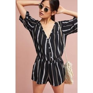 NEW Beach Gold Ancona striped romper
